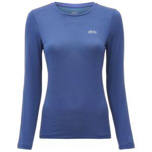 dhb hardloopshirt voor dames (lange mouwen) - UK 12 blauw