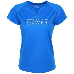OMM Trail t-shirt voor dames - Extra Small blauw