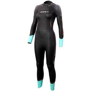 Zone3 Vision wetsuit voor dames - L zwart/blauw   Wetsuits