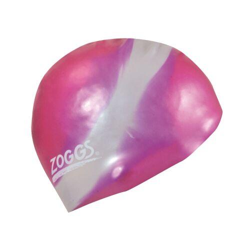 Zoggs Multi Colour badmuts - One Size Pink/Silver   Badmutsen