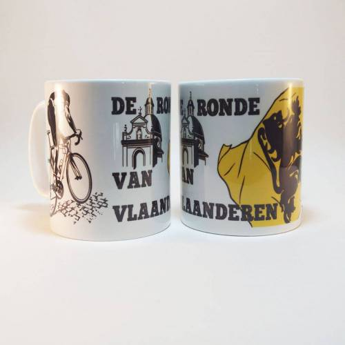 Cycling Souvenirs de Ronde van Vlaanderen mok - one-size-fits-all