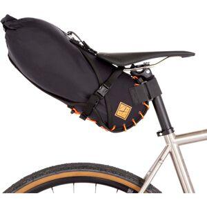 Restrap zadeltasholster en Dry Bag - 8 Litres zwart/oranje