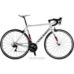 Colnago CRS racefiets (Ultegra, 2019) - 50cm Gloss White - Red