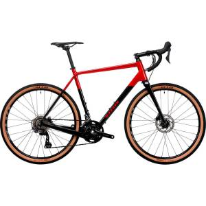 Vitus Substance CRS-2 Adventure racefiets (2020) - S Anthracite/Red