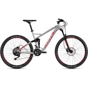 Ghost Kato FS 2.7 fiets (2020) - Small Silver - Red