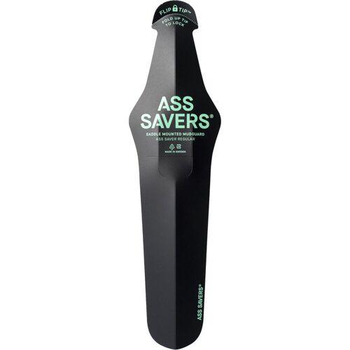 Ass Saver Regular spatbord - zwart   Klikspatborden