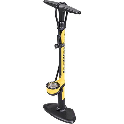 Topeak Joe Blow Sport III voetpomp - One Size zwart/geel   Voetpompen