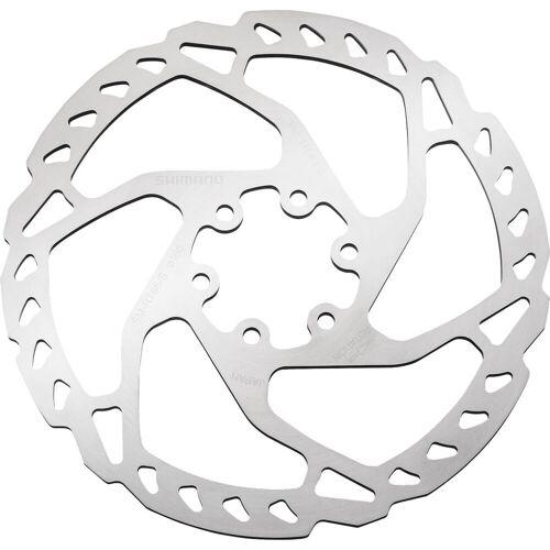 Shimano SLX remschijf 203 mm (6-gats) - 160mm zilver   Remschijven