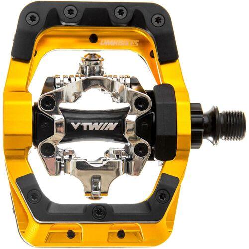 DMR V-Twin pedalen - one-size-fits-all goud   Klikpedalen