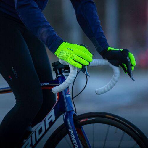 GripGrab Ride Hi-Vis waterdichte winterhandschoenen - XS