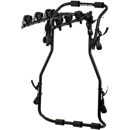 LifeLine hoge fietsendrager voor 3 fietsen - One Size zwart
