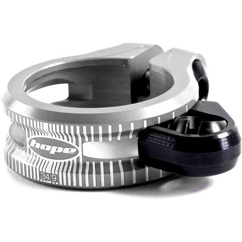 Hope zadelklem voor verende zadelpen - 36.4mm zilver   Zadelpenklemmen