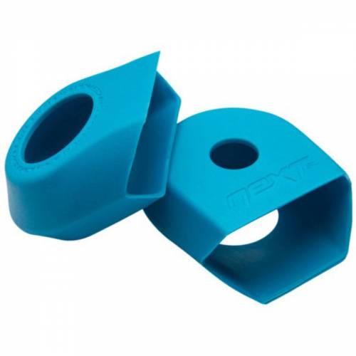 Race Face G4 NEXT crankarmbeschermers - Twin Pack blauw