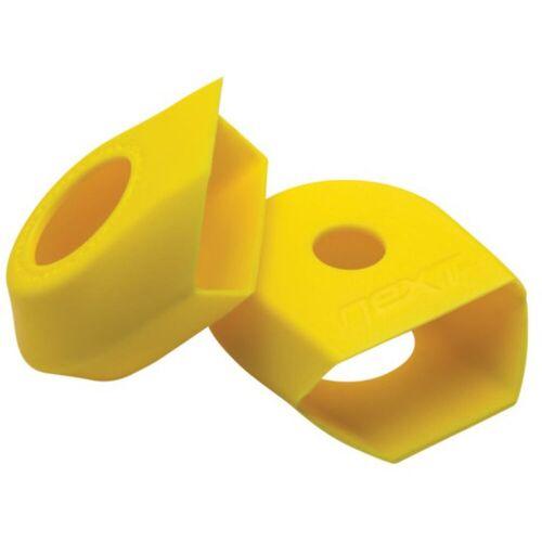 Race Face G4 NEXT crankarmbeschermers - Twin Pack geel