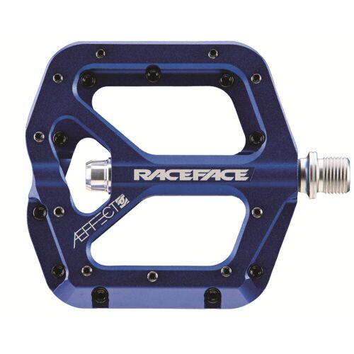 Race Face AEffect pedalen - one-size-fits-all blauw   Platformpedalen