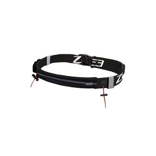 Zone3 wedstrijdriem met zak van lycra - one-size-fits-all zwart
