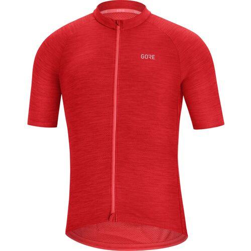 Gore Wear C3 fietstrui - S rood   Fietstruien