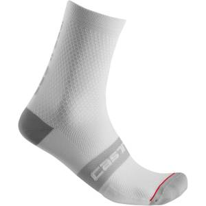 Castelli Superleggera 12 sokken - L/X wit   Sokken