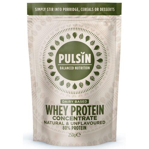 Pulsin Simply Whey eiwitpoeder (250 g) - 250g Natural   Wei-eiwit