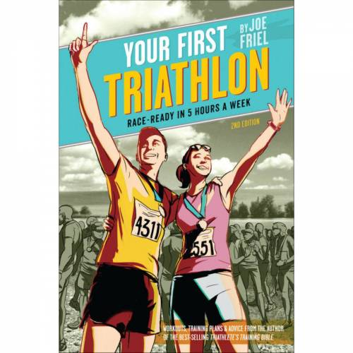 Cordee Your First Triathlon (Engels boek, 2e druk) - one-size-fits-all