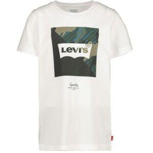 Levis T-shirt  - Man - Wit - Grootte: 152