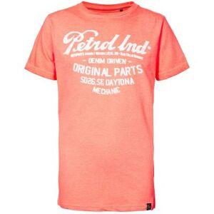 Petrol T-shirt  - Man - Roze - Grootte: 176