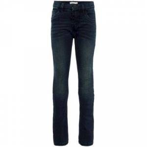 name it Jeans  - Man - Blauw - Grootte: 164