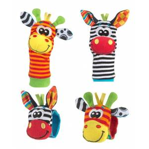 Playgro Jungle Wrist Rattle and Foot Finder Set