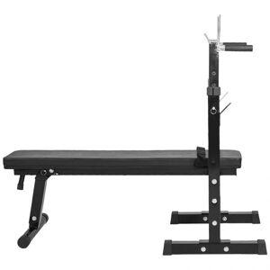 Gorilla Sports Verstelbare Halterbank Met 108 kg Halterset (Gietijzer)