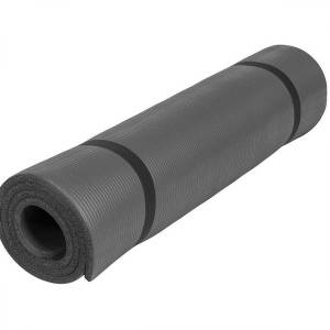 Gorilla Sports Yogamat Deluxe(190 x 100 x 1,5 cm) zwart