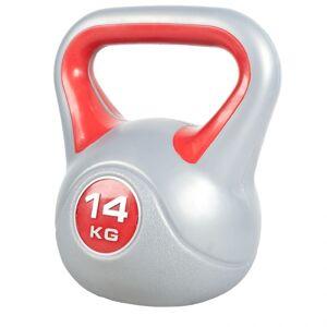 Gorilla Sports Kettlebells 10 en 14 kg Voordeelset Kunststof Trendy