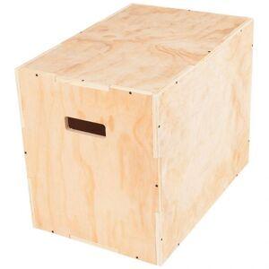 Gorilla Sports Plyobox Hout (60 cm x 50,5 cm x 75,5 cm)