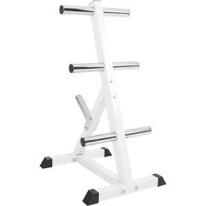 Gorilla Sports Schijvenstandaard 50/51 mm -Staal-belastbaar tot 350 kg