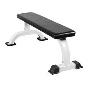 Gorilla Sports Vlakke fitnessbank-Dumbell presses belastbaar tot 300kg