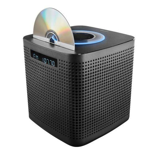 Medion LIFE P64430 Alles-in-één micro-audiosysteem met Amazon Alexa   2 x 15 W RMS   PLL-FM   DLNA   Bluetooth 4.2   CD/MP3 speler   Spraakbesturing