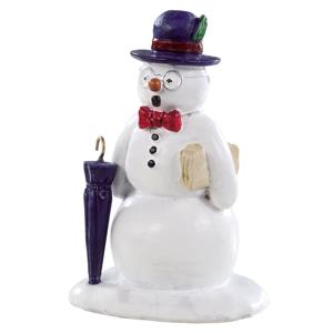 Lemax Dapper & Debonair Snowman