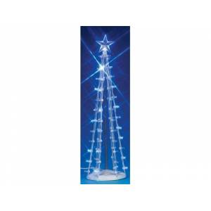 Lemax Lighted Silhouette Tree (Blue) Large