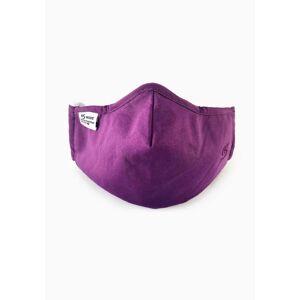 Liberty Island Herbruikbaar stoffen mondmasker - paars