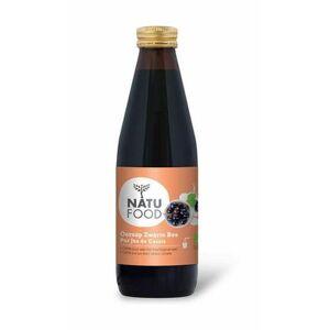 Natufood Zwarte bes oersap vitaal 330ml