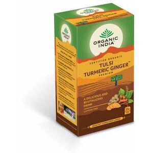 Organic India Tulsi turmeric ginger thee bio 25st