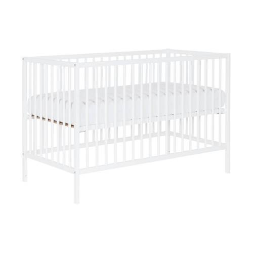 Puck Raw Babybed Beuken Wit 60 x 120 cm