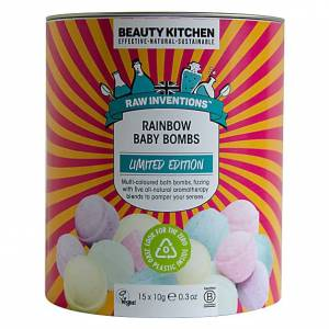 Beauty Kitchen Rainbow Baby Bath Bombs 15X10G - Limited Edition