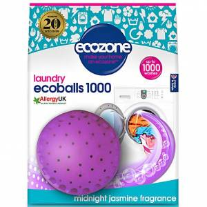 Ecozone Ecoballs 1000 wasbeurten - Midnight Jasmine fragrance