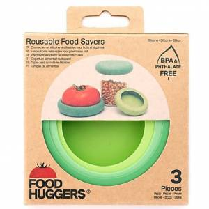 Food Huggers Soft Greens Set van 3