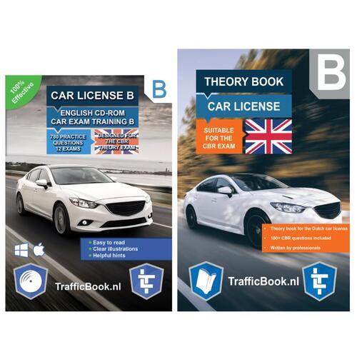 Auto Theorieboek Engels 2020 met Engelse Auto Theorie CD - Car Theory Book + Exam CD - (ISBN: 8719274517023)
