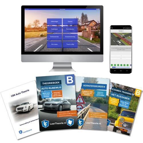AutoTheorieboek 2020 Rijbewijs B   Auto Theorieboek   Auto Theorie Samenvatting   Verkeerborden overzicht   Praktijk informatie   CBR Auto Theorie