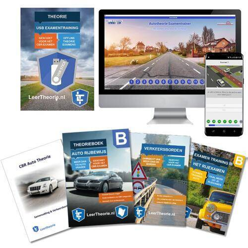 Auto Theorie 2020 Rijbewijs B PAKKET   Auto Theorieboek   Auto Theorie Samenvatting   Verkeerborden overzicht   Praktijk informatie   Auto Theorie