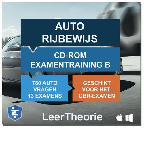 Auto Rijbewijs B - CD-ROM 2020 Auto Examentraining B - 845 oefenvragen - 13 Theorie Examens - Ontworpen voor het CBR theorie-examen - (ISBN: