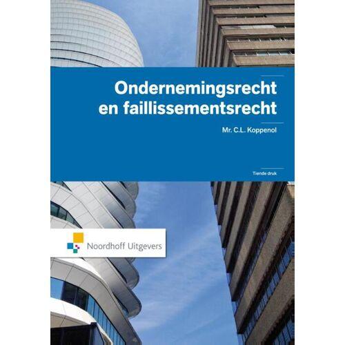 Ondernemingsrecht en faillisementsrecht - C.L. Koppenol (ISBN: 9789001809379)