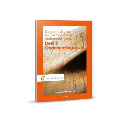 Ondernemingsrecht - A.M.M.M. van Zeijl (ISBN: 9789001875473)